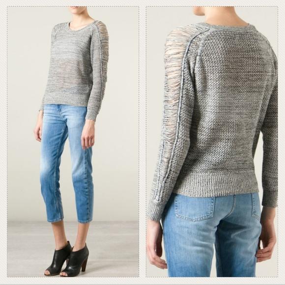 f008be7ca4b5 IRO Sweaters - IRO Yana Distressed Sweater